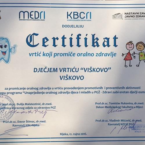Unaprjeđenje oralnog zdravlja djece i mladih u PGŽ-u