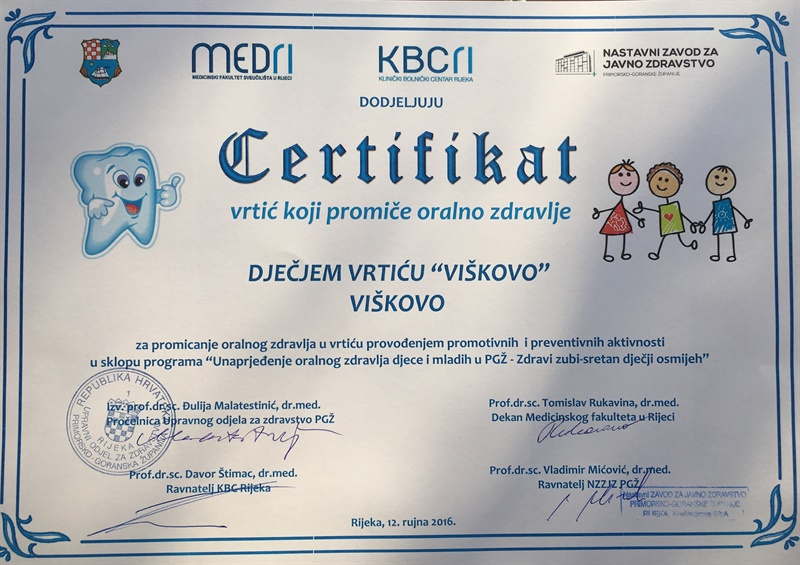 Unaprjeđenje  oralnog  zdravlja  djece  i  mladih
