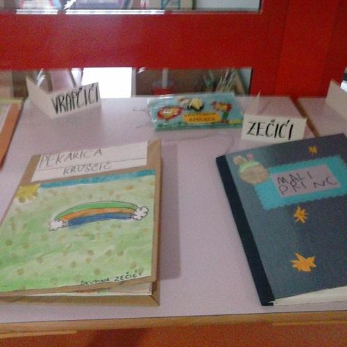 """Mjesec hrvatske knjige - """"izrada slikovnice"""""""