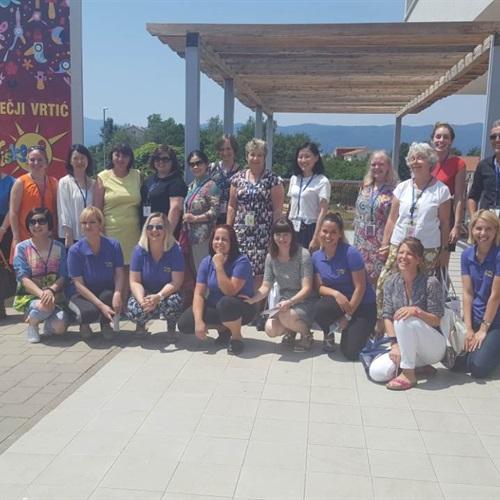Sudionici OMEP konferencije u posjeti vrtiću