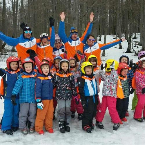Mi volimo skijanje!