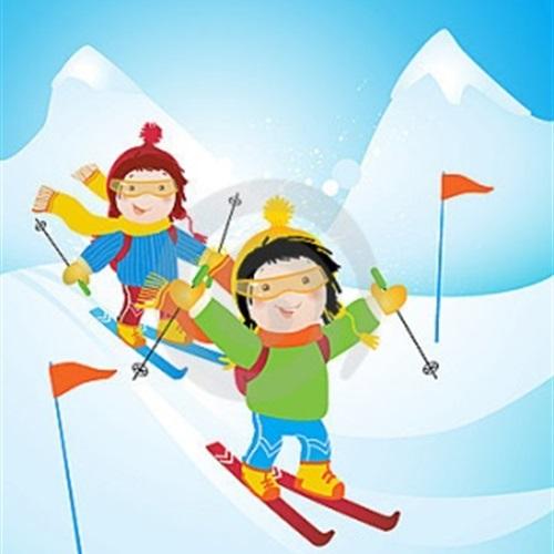 Škola skijanja Dječjeg vrtića Viškovo
