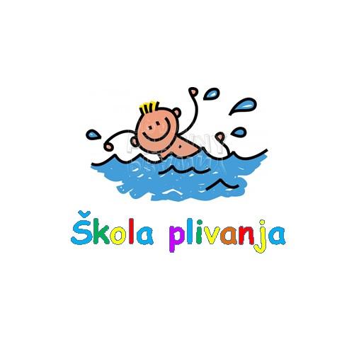Škola plivanja za djecu od 4 do 7 godina koja su polaznici DV Viškovo